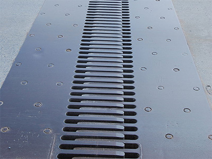 Congo Finger type expansion joint