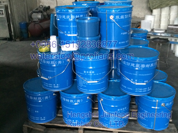 Congo Application of high modulus poly sulfur sealant